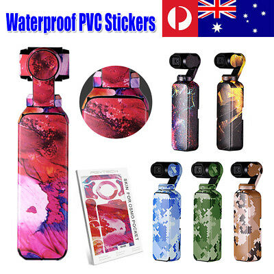 3PCS PGYtech Waterproof PVC Decal Stickers Cover Wrap Guard For DJI OSMO Pocket
