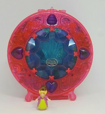 1996 Vintage Polly Pocket Starshine Palace + original figure - Bluebird Toys