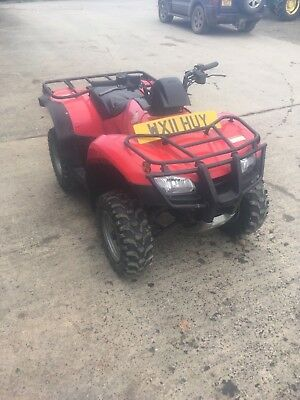 Honda TRX250 quad bike