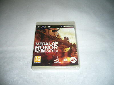 Brand New & Sealed Ps3 Playstation 3 MEDAL OF HONOR WARFIGHTER Free Postage