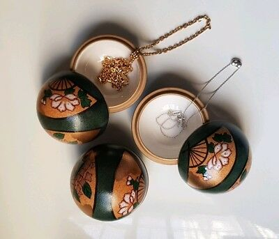 Japanese ceramics hand crafted jewellery case