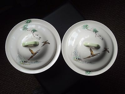 Royal Doulton, The Coppice D5803 -Pair of large serving bowls.
