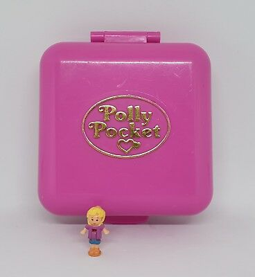 1989 Vintage Polly Pocket - Wild Zoo World + original figure - Bluebird