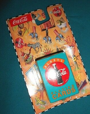 Vintage Always Coca-Cola Mini Playing  Cards Sealed Collectibles Order # 409
