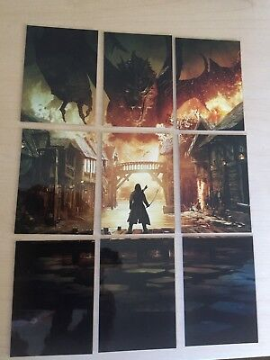 Cryptozoic Hobbit The Battle of the Five Armies : 9 Card Smaug 3D Insert Set