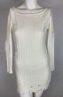 d269d39297 FOREVER 21 WOMEN S Drop Waist Dress Size L Juniors Off White Cream ...