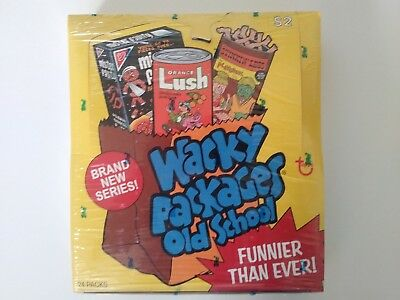 2010 Topps Wacky Packages Old School 2 Factory Sealed Box
