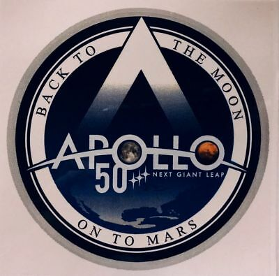 Apollo 50 'next Giant Leap' Sticker