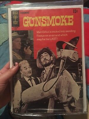 Gunsmoke Comic #2  Gold Key  1969 Comic