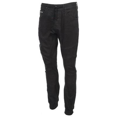 df98de9e1bd9 Pantalon jeans slim Jack and jones Simon 34 blk denim jeans Noir 51950 -  Neuf
