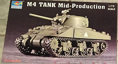 "Trumpeter: M4 ""Sherman"" Mid Production, Nr. 07223, 1:72"