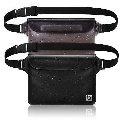 blue sky BASICS Waterproof Pouch with Waist Strap (2 Pack) |
