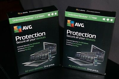 AVG protection unlimited devices - 2 year subscription & 1 year ( 3 years total)