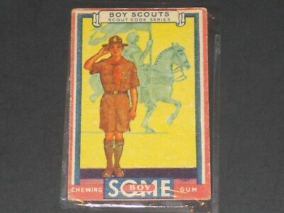 1933 R142 Goudey Some Boy (Boy Scouts), #1, VERY NICE CARD!!!