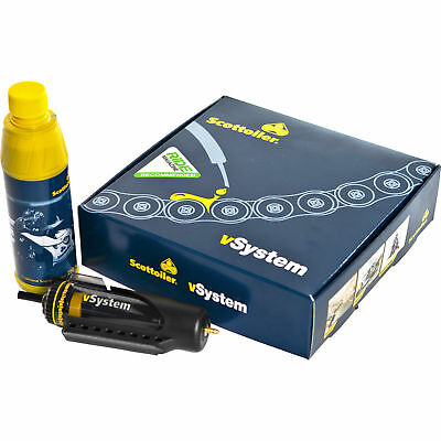 Scottoiler vSystem Universal Edition - automatic chain oiler fits any motorcycle