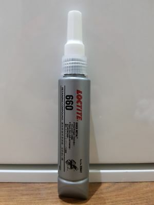 LOCTITE 660  Retaining Compound - high strength. Gap filling