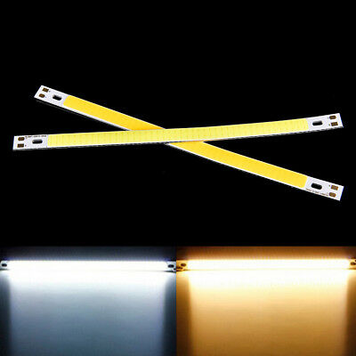 High Power 10W 1000LM COB LED Strip Light Lamps Warm White 20*1CM 12-14V WTUS