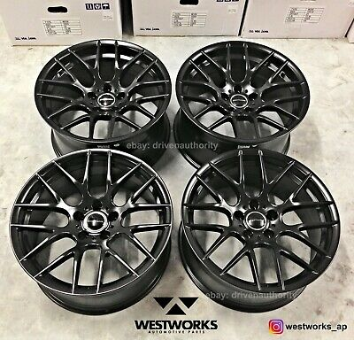 18 Avant Garde M359 Black Wheels Rims Bmw F30 320i 328i 335i E90