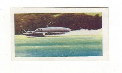 Water Sports. Donald Campbell breaks the world speed record in Bluebird in 1955