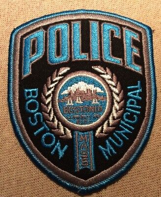 MA Boston Massachusetts Municipal Police Patch