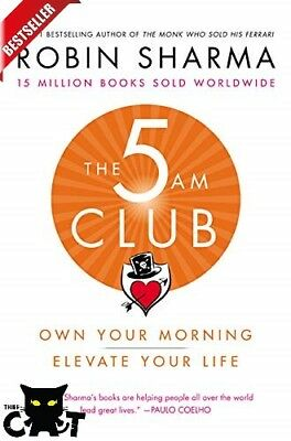 The 5 AM Club: Own Your Morning, Elevate Your Life - NEW Healthy Book PPB