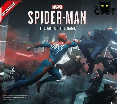 Spider-Man: The Art of the Game - Into the Spider-Verse - NEW Marvel Art Harcove