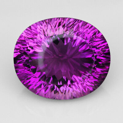 VVS 13.8Ct Precious Fancy Cut Purple & Yellow Ametrine 100% Natural UQAE158