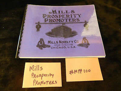MILLS PROSPERITY PROMOTERS MINT 40 Pages ANTIQUE SLOT MACHINE BOOKLET #MPP100