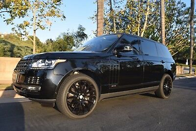 """2015 Land Rover Range Rover  Full Size Supercharged LWB Autobiography 22"""" Wheels"""