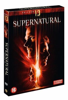 Supernatural Die komplette Staffel/Season 13 [DVD] 6-Disc Deutscher Ton NEU-OVP