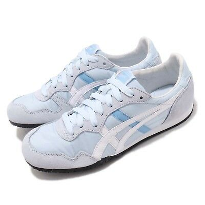 Asics Onitsuka Tiger Serrano Sky Blue White Women Running Shoes 1182A077-400
