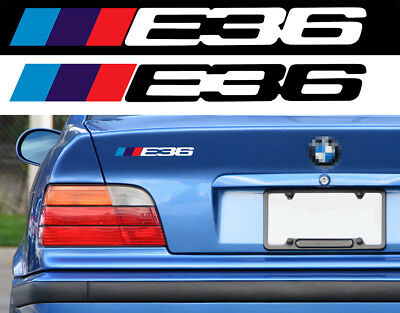STICKER E36 BMW MOTORSPORT SPORT RACING 18cm LOGO AUTOCOLLANT AUTO BA226