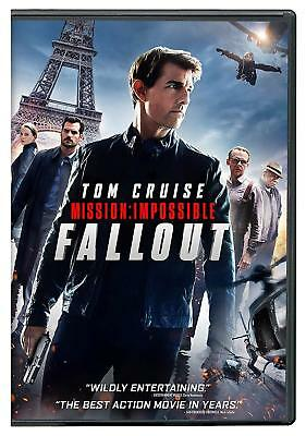 *** Mission: Impossible - Fallout (DVD) 2018 - Fast Free US Shipping ***