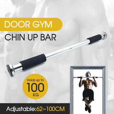 Chin Pull-Up Bar for Door Frames with Padded Grips up to 150 kg without Drilling
