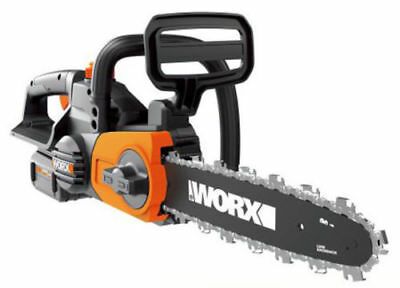 """WORX WG380 40V Powershare 12"""" Cordless Chainsaw with Auto-Tension"""