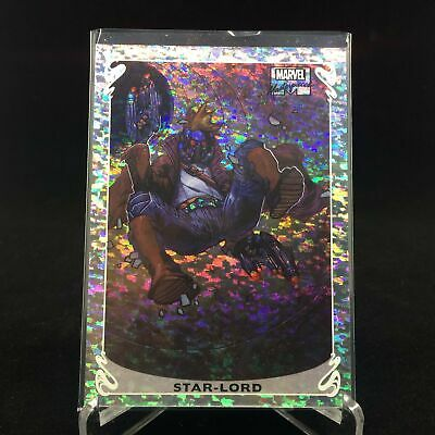 2018 Marvel Masterpiece STAR-LORD Holofoil 9 OF 20 Speckle /99