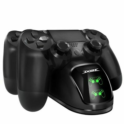8PS4 Dual Controller Fast Charger Charging Dock Station Stand Dualshock Gamepad