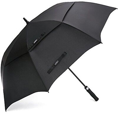 Automatic Open Golf Umbrella Extra Large Oversize Double Canopy Vented Windproof