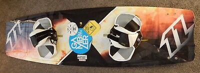 Kitesurfing equipment complete, 12m North Rebel kite, North Gambler board
