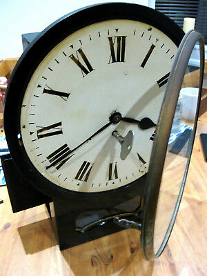 CLASSIC  Fusee Movement C1860 Antique Wall Clock IN EXCELLENT WORKING ORDER