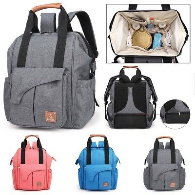 Diaper Backpack Mummy Nursing Baby Nappy Large Bag Maternity Travel Tote 2019