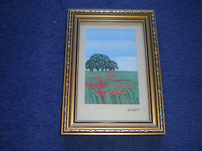 Alison Holt Small Embroidery Stitch Framed (1)