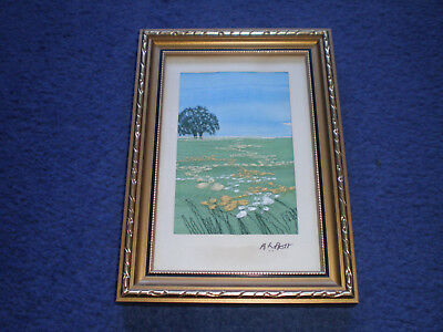 Alison Holt Small Embroidery Stitch Framed (2)