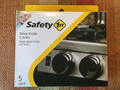 New*Safety 1st Stove Knob Covers*Range/Oven*Baby/Infant/Child Safety*5 pk.*HS147