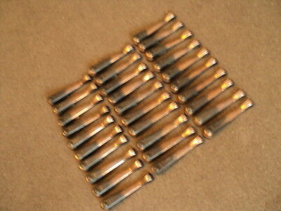 Full Set 30 Vintage Coppered Stair Carpet Grips/ Clips
