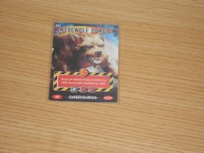 Doctor Who Battles in Time, Ultra Rare, Werewolf Power (no 086) Good Condition