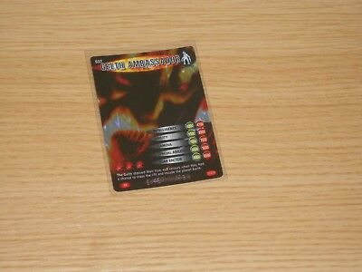 Doctor Who Battles in Time, Super Rare, Gelth Ambassader (no 037) Good Condition