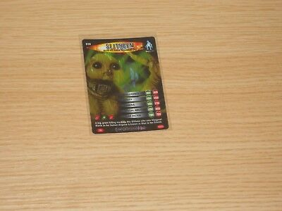 Doctor Who Battles in Time, Super Rare, Slitheen (no 010) Good Condition