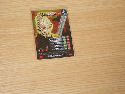 Doctor Who Battles in Time, Super Rare, Sycorex (no 067) Good Condition