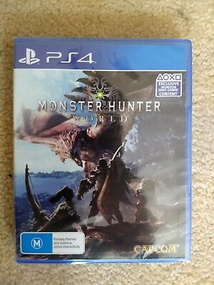 New Monster Hunter World Playstation 4 PS4 Game